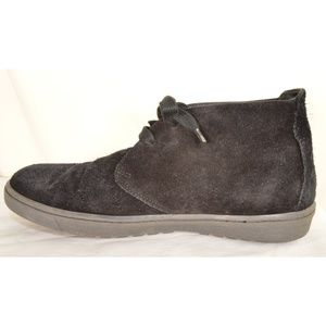 Vince shoes boots hi top US 8 EU 41 black suede le